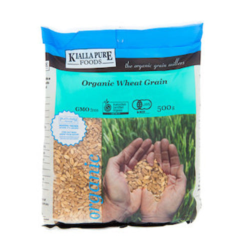 Kialla Organic Wheat Grain