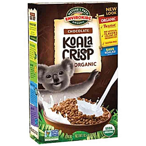 NATURE'S PATH Envirokidz Organic Chocolate Koala Crisp Pack 325g