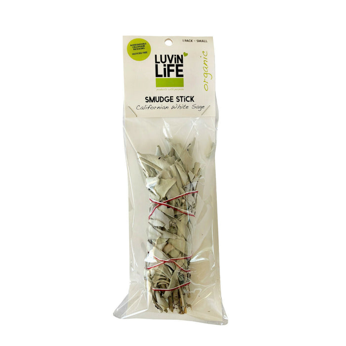 Luvin Life White Sage Smudge Stick - Small 16cm