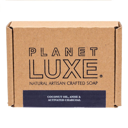Planet Luxe Natural Artisan Crafted Soap Black Anise