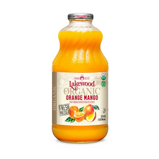 LAKEWOOD Orange Mango Juice Organic 946mL
