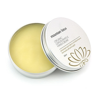 Mountain Lotus Organic Lemon Myrtle Hand Cream