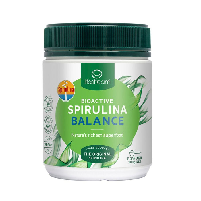 LifeStream Bioactive Spirulina Balance Powder 200g