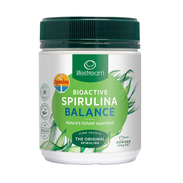 LifeStream Bioactive Spirulina Balance Powder 500g