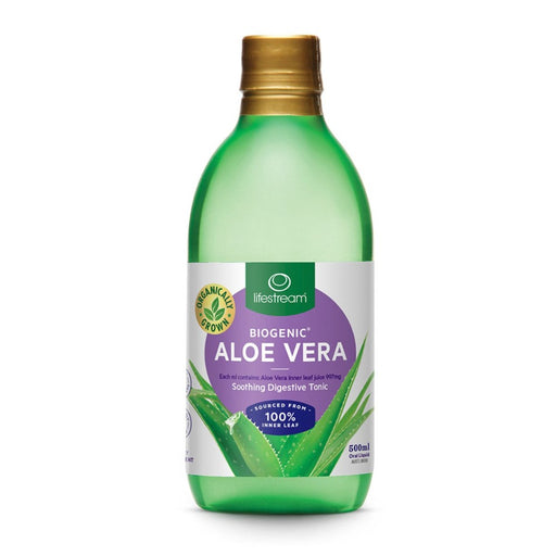 LifeStream Biogenic Aloe Vera Juice 500ml
