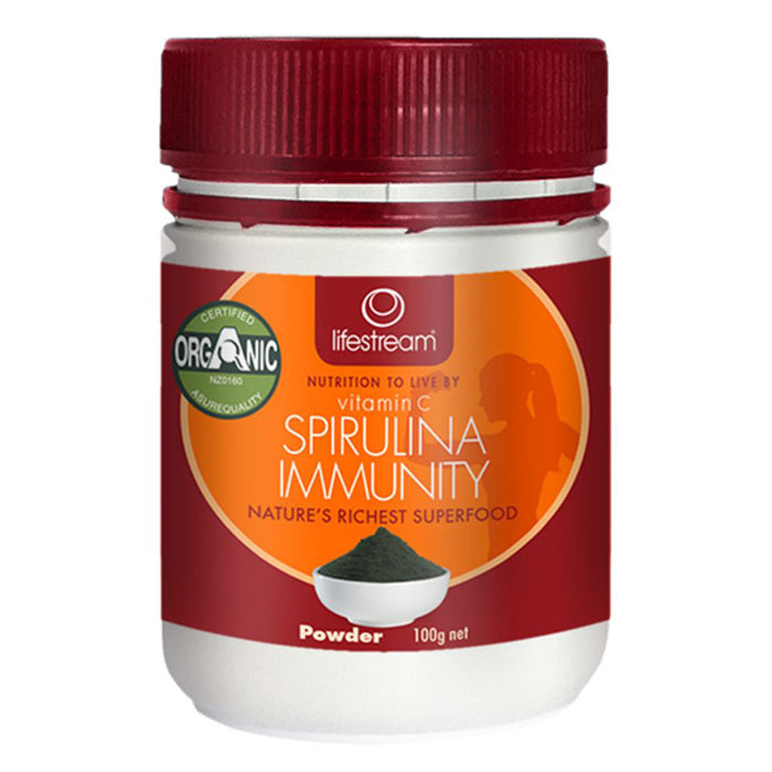 LifeStream Spirulina Immunity with Vitamin C  Powder