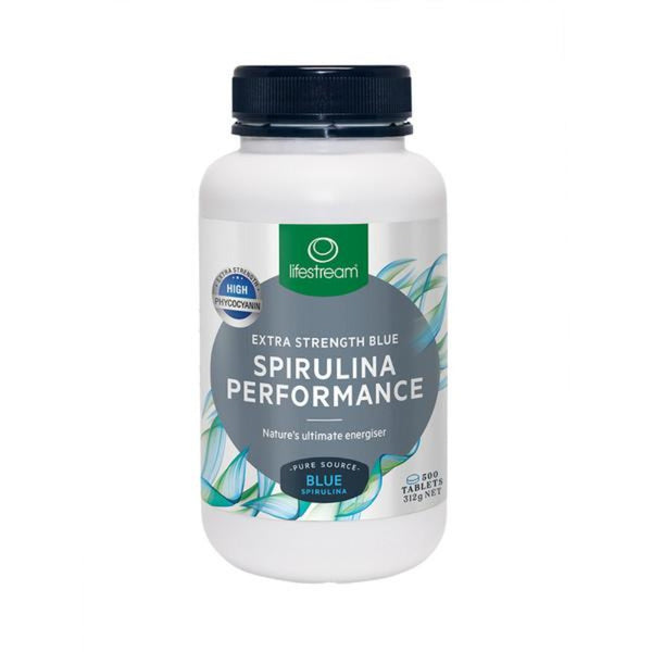 LifeStream Spirulina Performance - Extra Strength Blue 624mg 500 Tablets