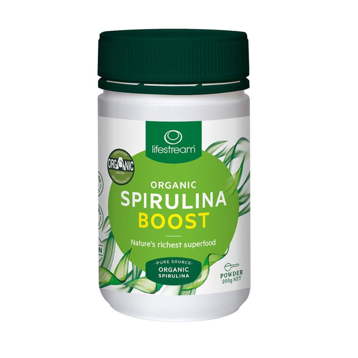 LifeStream Organic Spirulina Boost  Powder