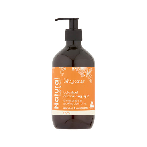 Little Innoscents rosewood & sweet orange Botanical Dishwashing Liquid