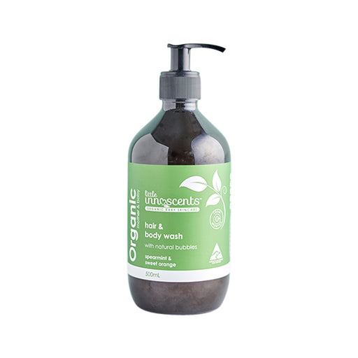 Little Innoscents Spearmint Organic Hair and Body Wash