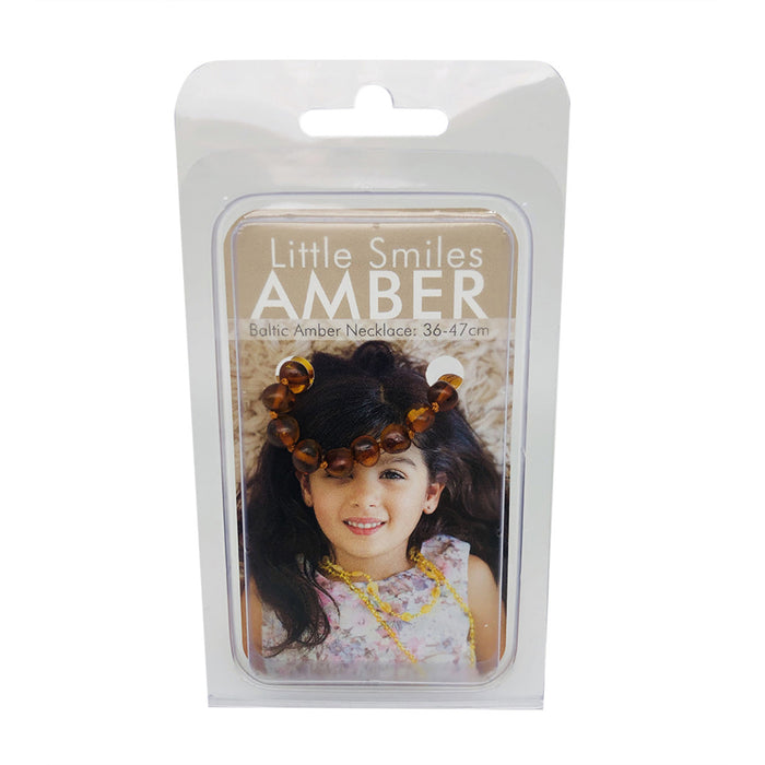 Little Smiles Amber Kids Amber Brown Necklace