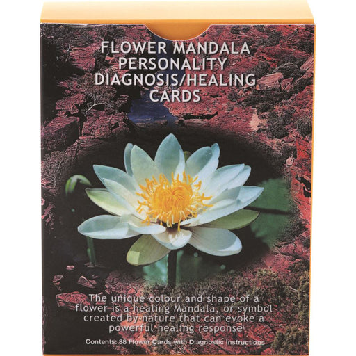 Living Essences Flower Mandala Personality Diagnosis/Healing Insight Cards