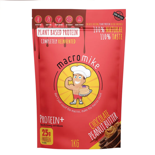 Macro Mike Plant Based Protein Chocolate Peanut Butter