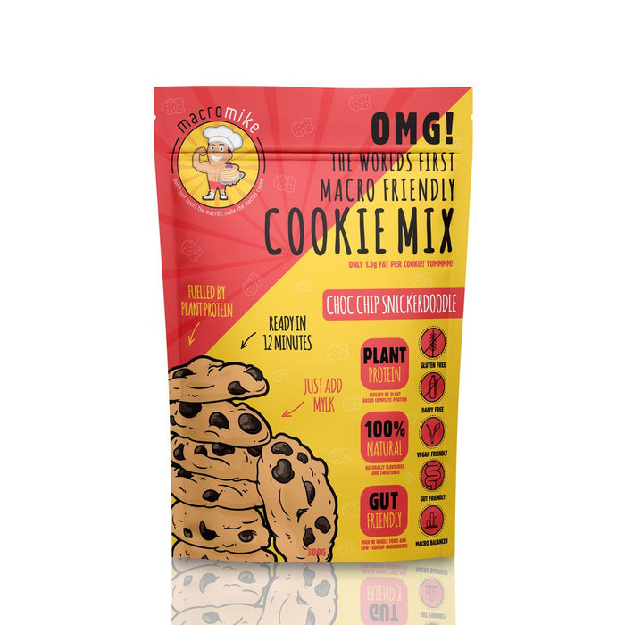 Macro Mike Macro Friendly Cookie Mix - Choc Chip Snickerdoodle