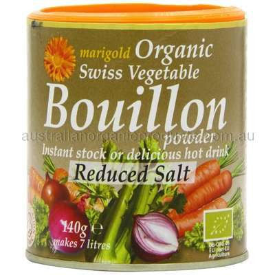 Marigold Organic Reduced Salt Vegetable Bouillon - 140g