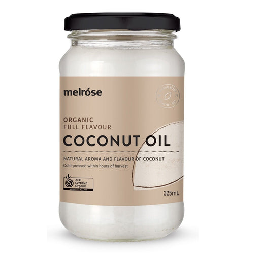 Melrose Full Flavour Organic Coconut Oil 325ml