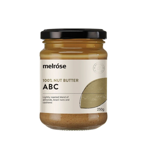 Melrose Nut Butter Spread - 250g Abc