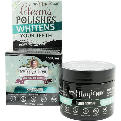 My Magic Mud Whitening Tooth Powder With Charcoal - Spearmint