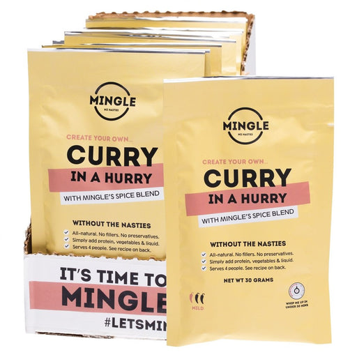 Mingle Natural Seasoning Blend Curry in a Hurry
