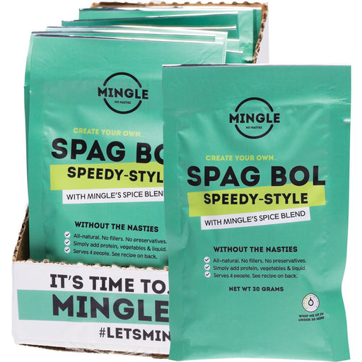 Mingle Natural Seasoning Blend Spag Bol Speedy-Style