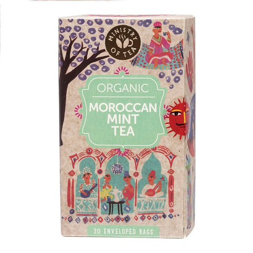 Ministry Of Tea Herbal Tea Bags Moroccan Mint