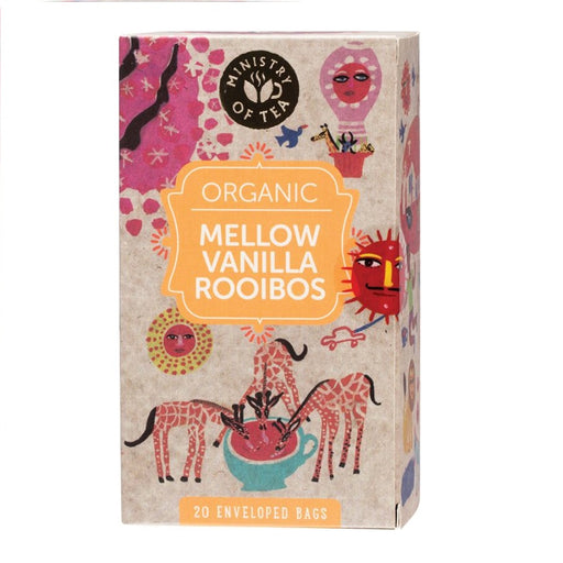 Ministry Of Tea Herbal Tea Bags Mellow Vanilla Rooibos