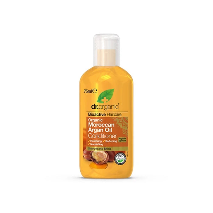 DR ORGANIC Travel Size - Conditioner Organic Moroccan Argan Oil - 75ml