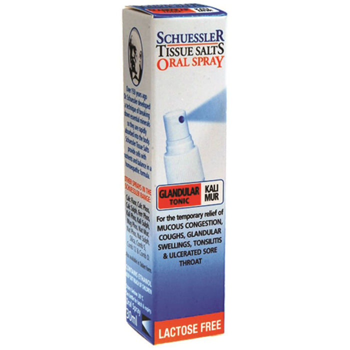 Martin & Pleasance Schuessler Tissue Salts Kali Mur Glandular Tonic Spray