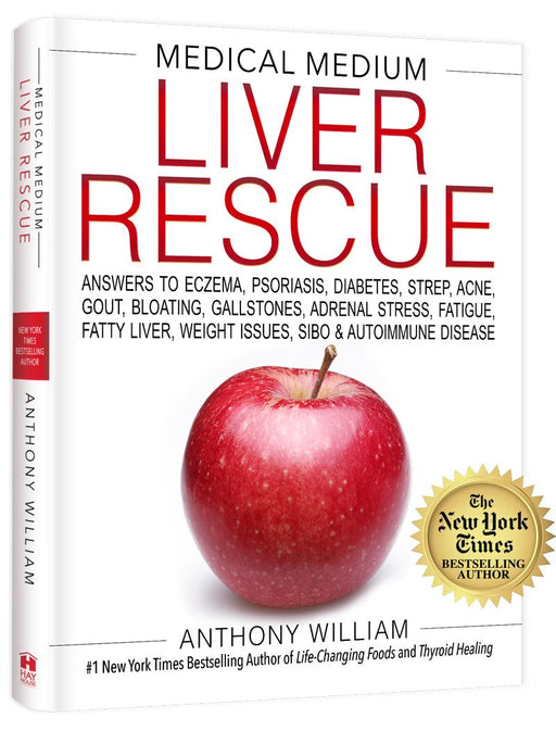 BOOK Medical Medium Liver Rescue By Anthony William