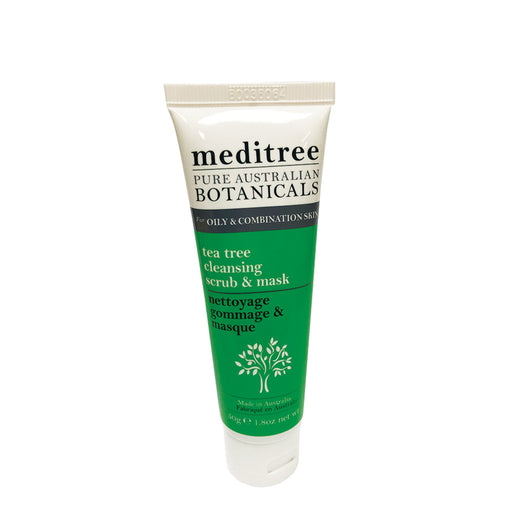 Meditree Oily & Combination Skin Tea Tree Cleansing Scrub & Mask 50g
