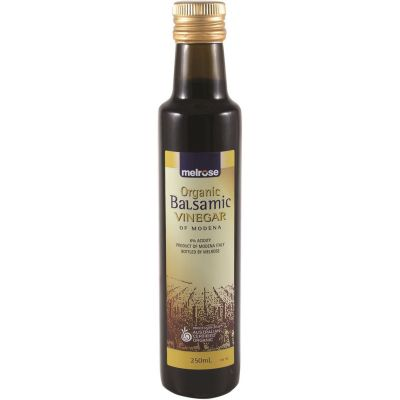Melrose Organic Balsamic Vinegar 250ml Bottle
