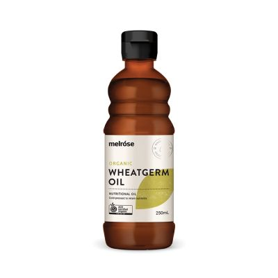 MELROSE Organic Unrefined Wheatgerm Oil 250ml