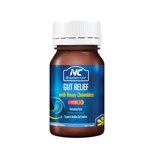 NC by Nutrition Care Gut Relief with Honey Chewable