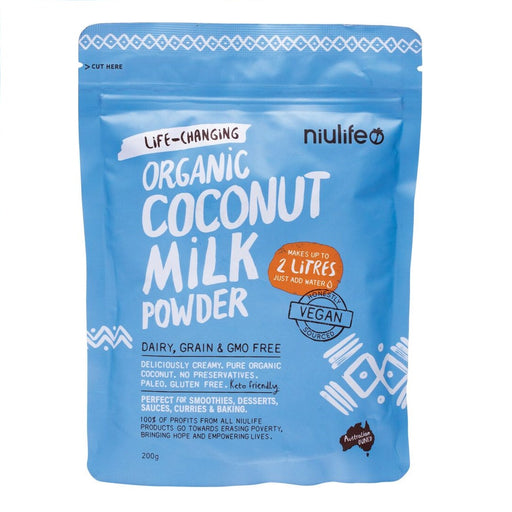 Niulife Coconut Milk Powder Makes Up To 2 Litres