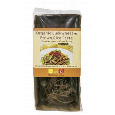 NUTRITIONIST CHOICE Spaghetti Brown Rice & Buckwheat Pasta 180g