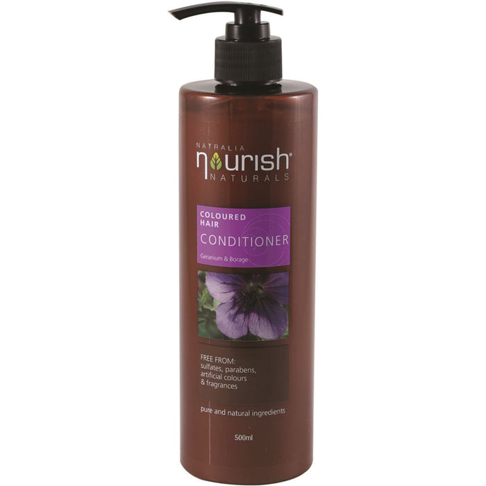 Natralia Nourish Geranium & Borage Coloured Hair Conditioner