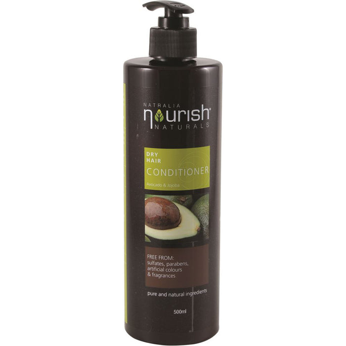 Natralia Nourish Avocado & Jojoba Dry Hair Conditioner