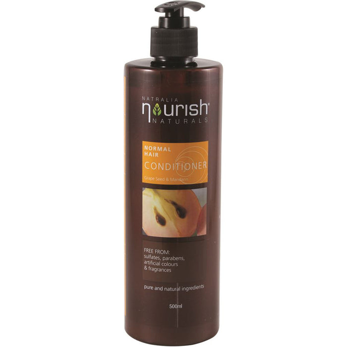 Natralia Nourish Grape Seed & Mandarin Normal Hair Conditioner 500ml