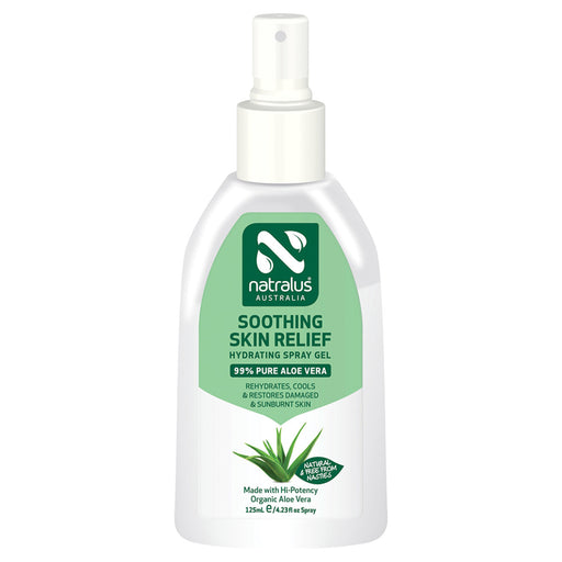 Natralus Soothing Skin Relief Aloe Vera Spray