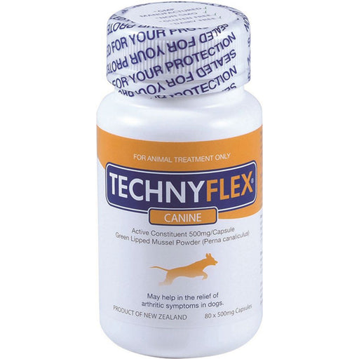 Natural Health Technyflex Canine Green Lipped Mussel 80c