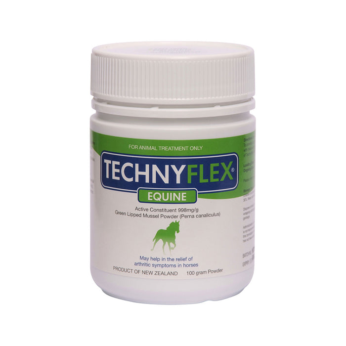 Natural Health Technyflex Equine Green Lipped Mussel 100g