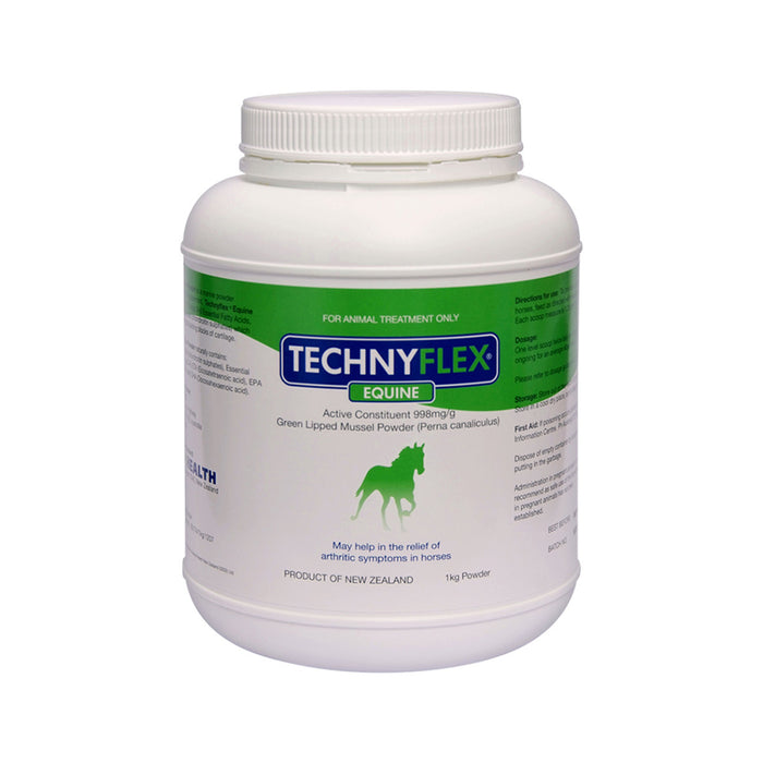 Natural Health Technyflex Equine Green Lipped Mussel 1kg