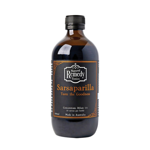 Natural Remedy Tonics Sarsaparilla Concentrate - Unwrapped