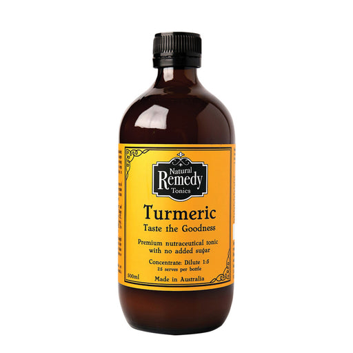 Natural Remedy Tonics Turmeric Concentrate - Unwrapped