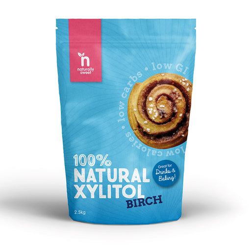 Naturally Sweet 100% Natural Xylitol Birch 2.5kg