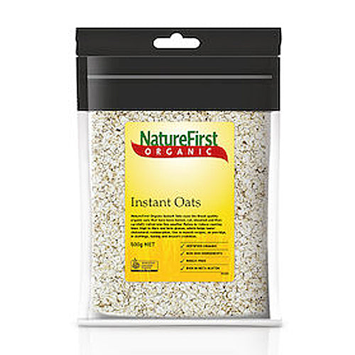 NATURE FIRST Organic Instant Oats 500g