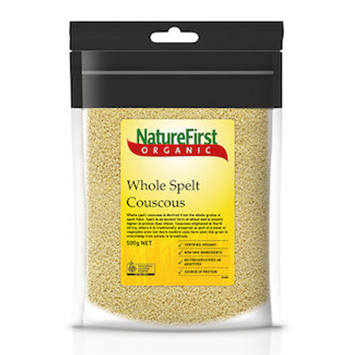 Nature First Couscous Whole Spelt Organic 500g