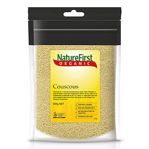 NATURE FIRST Organic Couscous 500g - Box of 6
