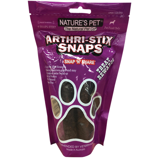 NATURE'S PET Arthri-Stix Snaps 6 Pack