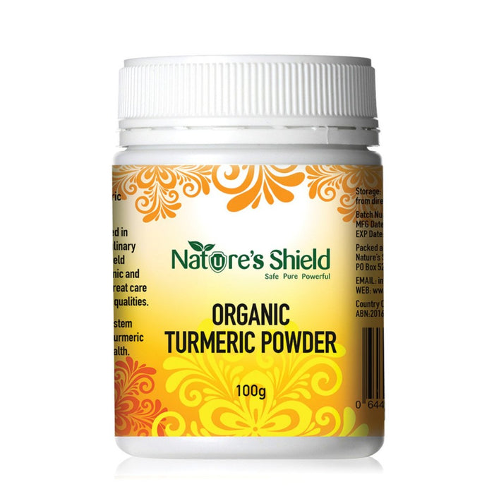 Nature's Shield Organic Turmeric Powder 100g